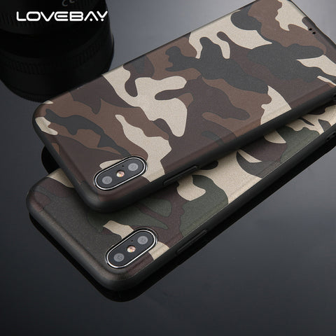 Army Green Camouflage Case For iPhone