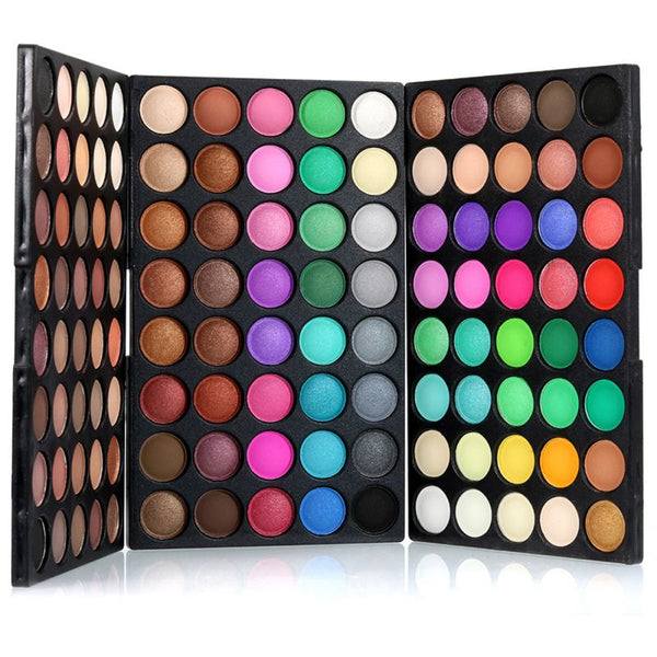 Popfeel Professional 120 Colors Natural  Makeup Set