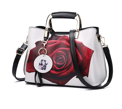 Flower Pattern Handbag