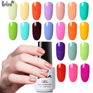 Long-lasting Hybrid Light Color Macaron Gel Nail Polish