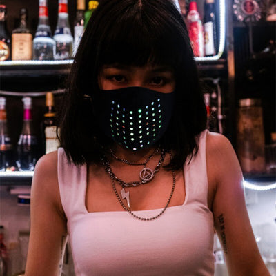 Smart Mask™ Voice Activated Mask LED