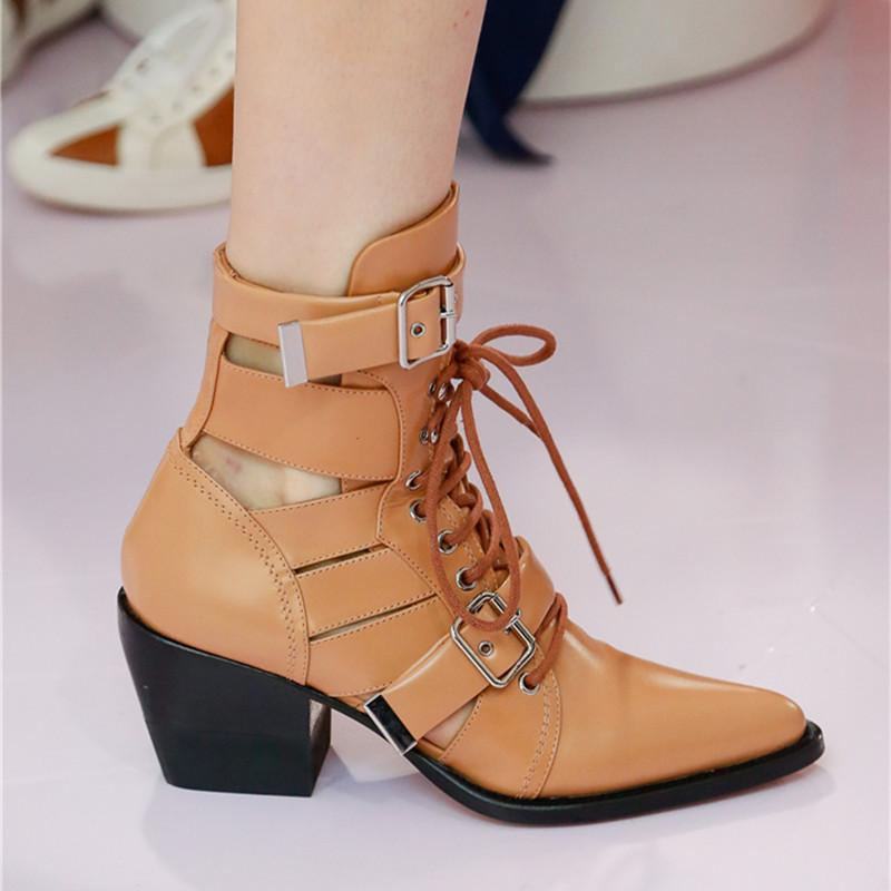 Women's High-Heeled Short-Sleeve Pointed Low-Sleeve Sandals