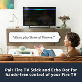 Fire TV Stick with Alexa Voice Remote (1st Gen), streaming media player
