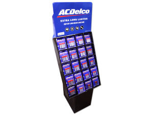 AC Delco 160 Piece Battery Display