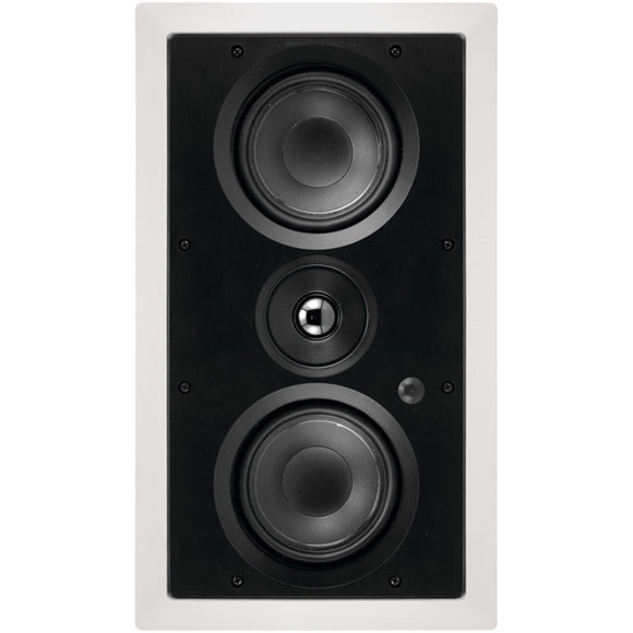 "Architech Dual 5.25"" 2-way Lcr In-wall Loudspeaker"