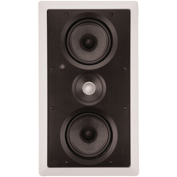 "Architech Dual 5.25"" Kevlar Lcr In-wall Speaker"