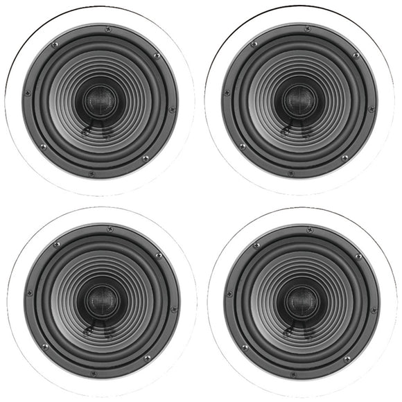 "Architech 6.5"" Premium Series Ceiling Speakers Contractor 4 Pk"