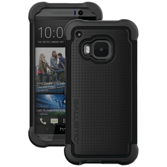 Ballistic Htc One (m9) Tough Jacket Case (black)