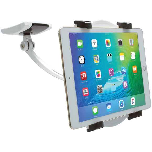 Cta Digital Ipad And Tablet Wall Under-cabinet & Desk Mount With 2 Mounting Bases