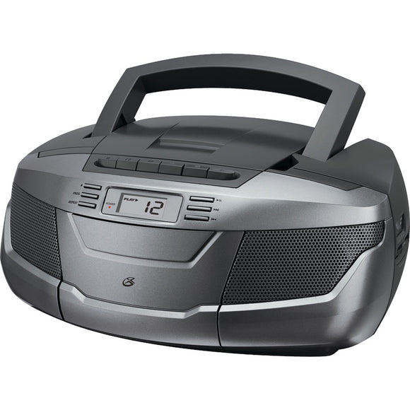 Gpx Cd Boom Box With Am And Fm Radio & Cassette Player