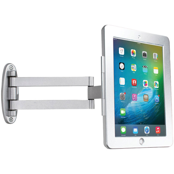 "Cta Digital Ipad Air And Ipad Air 2 And Ipad Pro 9.7"" And Ipad With Retina Display And Ipad 3rd Gen And Ipad 2 Articulating Wall-mounting Security Enclosure"