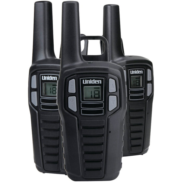 Uniden 16-mile 2-way Frs And Gmrs Radios (3 Pk; With 9 Batteries)