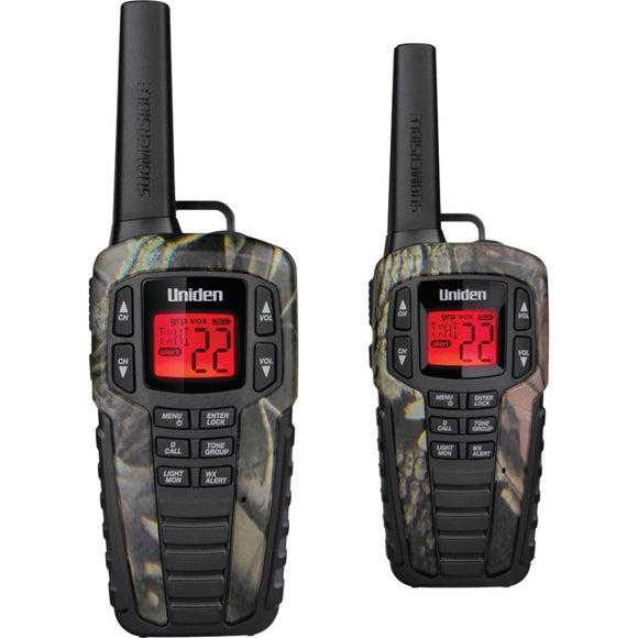 Uniden 37-mile 2-way Frs And Gmrs Radios (camo)