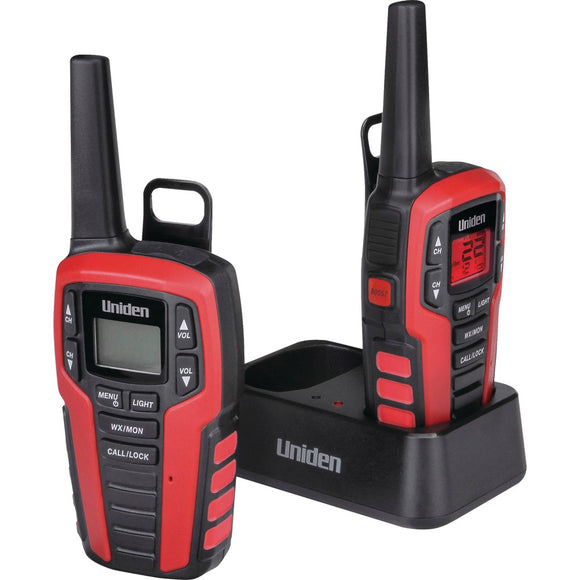 Uniden 32-mile 2-way Frs And Gmrs Radios (micro Usb Y-cable)
