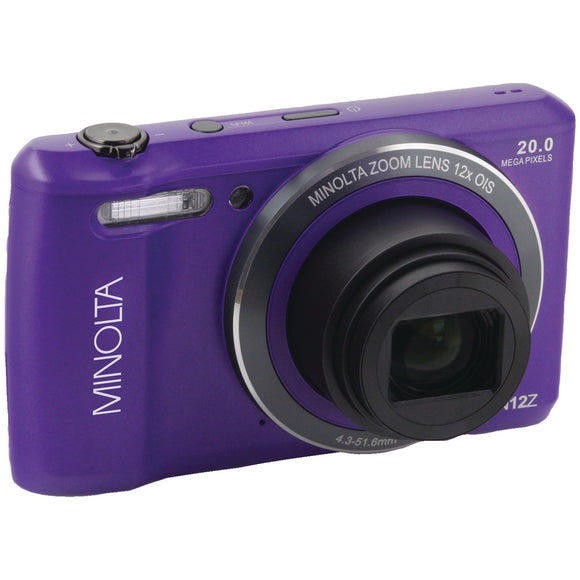 Minolta 20.0-megapixel Hd Wi-fi Digital Camera (purple)