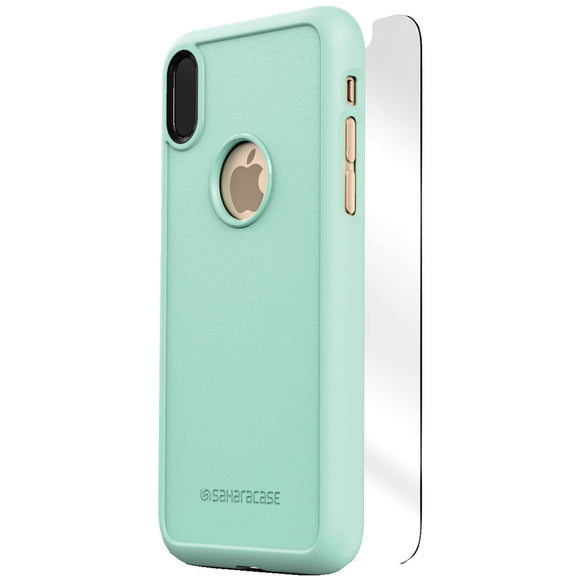Saharacase Dbulk Series Protective Kit For Iphone X (aqua)