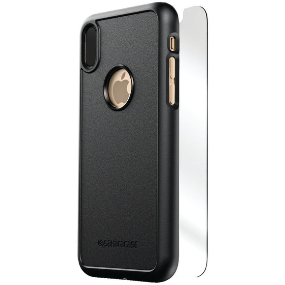 Saharacase Dbulk Series Protective Kit For Iphone X (black)