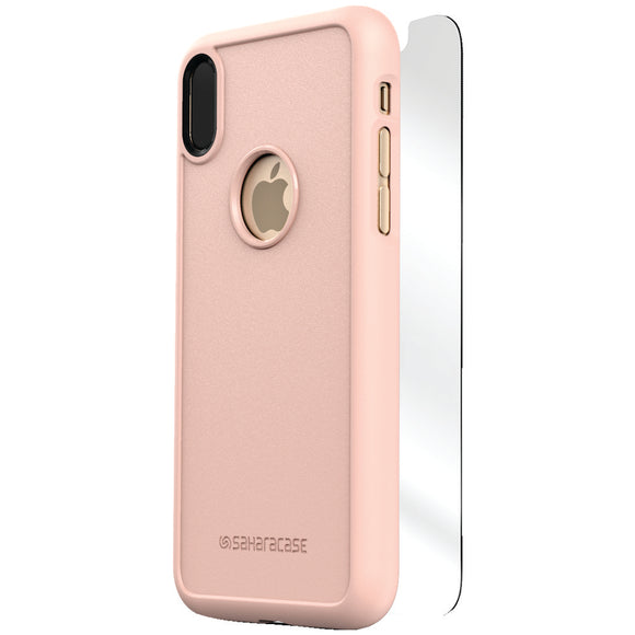 Saharacase Dbulk Series Protective Kit For Iphone X (rose Gold)