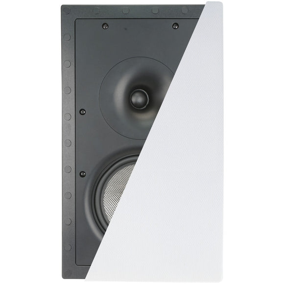 "Architech 6.5"" Frameless In-wall Lcrs Speaker"