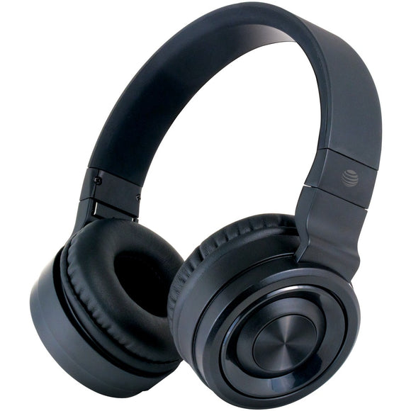 At&t Pbh20 Stereo Over-ear Headphones With Bluetooth (black)