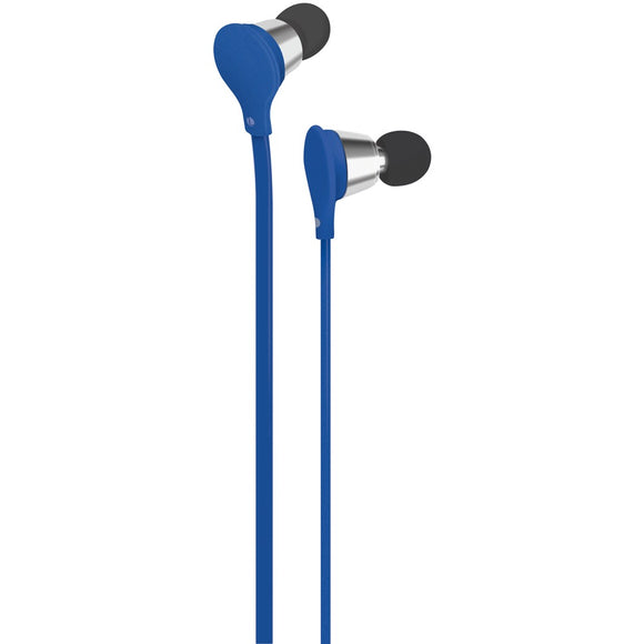 At&t Jive Noise-isolating Earbuds With Microphone (blue)