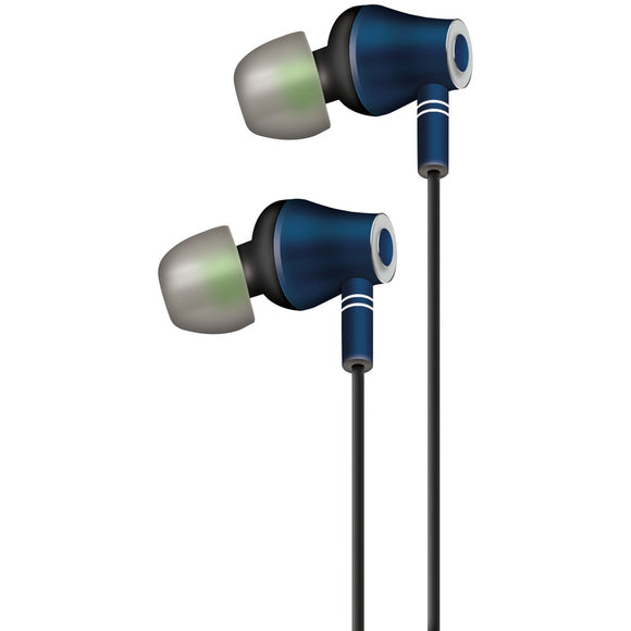 At&t E10 Metallic Stereo Earbuds With Microphone
