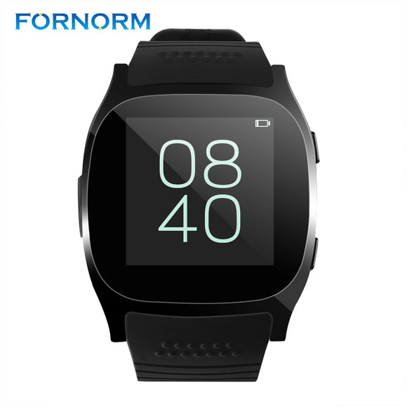 FORNORM Mini Style T8 Bluetooth Smart Watch Support SIM TF Card Sleep Monitor Message Notifier For Android
