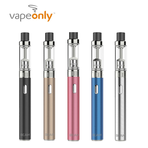 Original VapeOnly BEAM Starter Kit with 650mAh Beam Battery & 2ml Beam Atomizer & 1.3ohm Coil Electronic Cigarette Pen Vape Kit