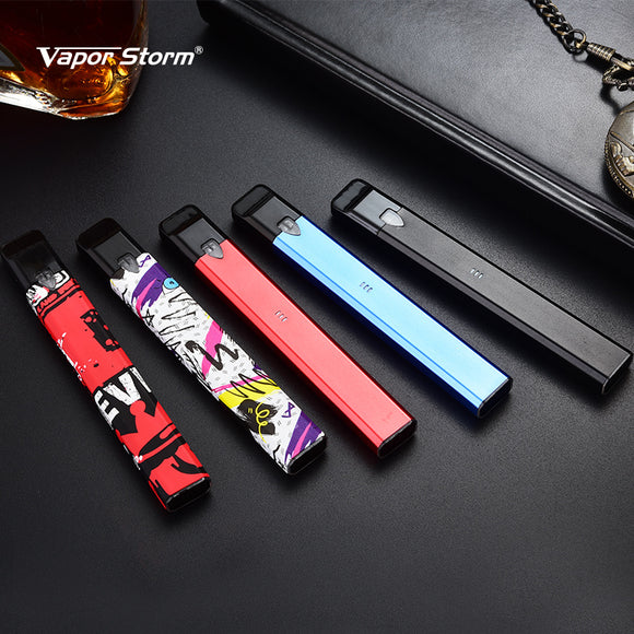 Original Vapor Storm Stalker Kit 400mah Battery 1.8ml Cartridge Refillable Electronic Cigarette Vape Pen Kit