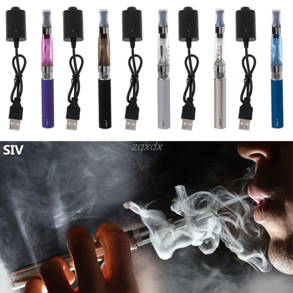 SIV Electronic Cigarette Electronics E-Cigarette Vape Pen Kit 650mAh For EGO CE4 Z07 Drop ship