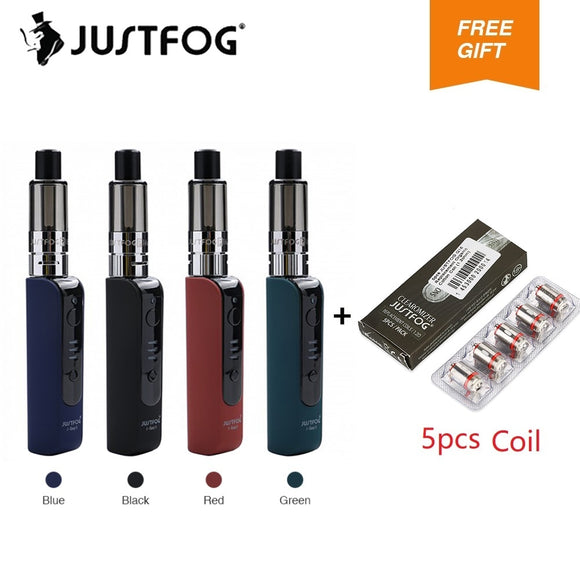 Original Justfog P16A Kit Vape Pen Mini Kit with 900mAh Battery Built-in Anti-spit protection E-cigarette kit vs justfog Q16 kit