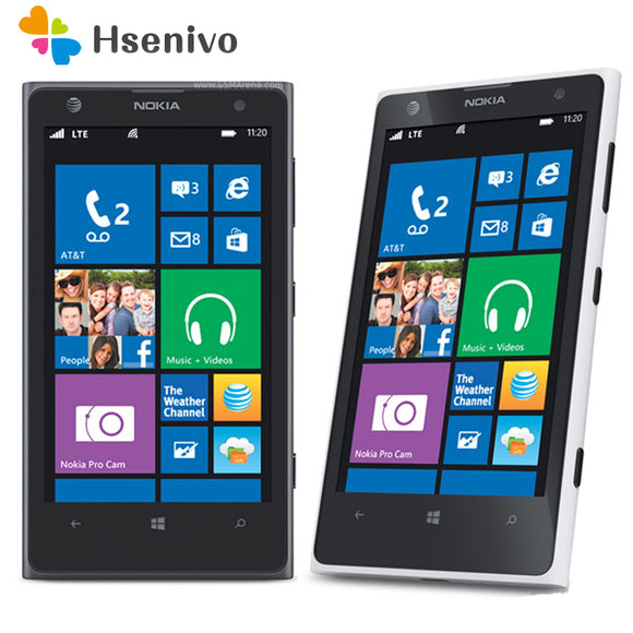 1020 Unlocked 100% Original Nokia Lumia 1020 Mobile Phone 2 RAM 32 ROM Phone 41MP GPS 4.5'capacitive touchscreen Cell Phone