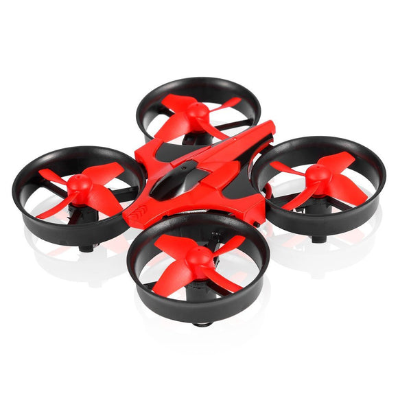 Red Mini UFO Quadcopter Drone LED Lights Drones Headless Mode Quadcopter
