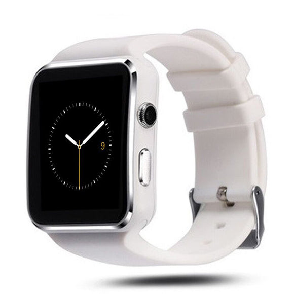X6 1.54 inch 2.5D Arc Capacitive Touch Screen Bluetooth 3.0 Smart Watch