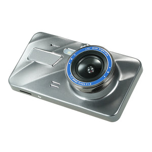"KKMOON 4"" Dual Lens Car DVR Dash Cam Camera Camcorder LED Night Vision / Motion Detection / Loop Recording / G-sensor"