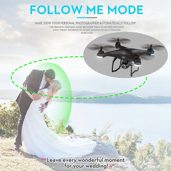 SJ R/C S20W1080P(GPS) Altitude Hold Quadcopter Drone