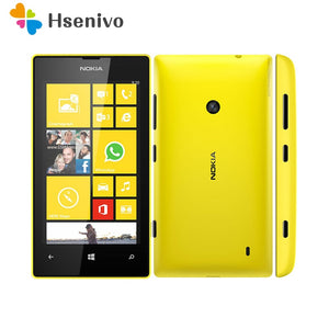 "520 Original Nokia Lumia 520 unlocked mobile phone Dual Core 3G WIFI GPS 4.0"" 5MP 8GB Nokia 520 Windows cell phone free shipping"