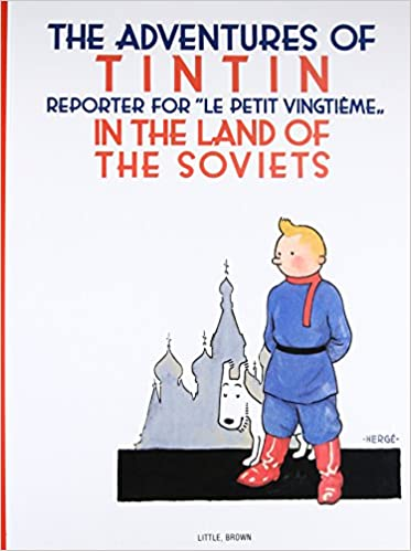 Tintin Book - Land of the Soviets