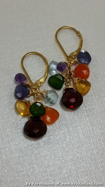 Kristin Ford - Chakra Earrings