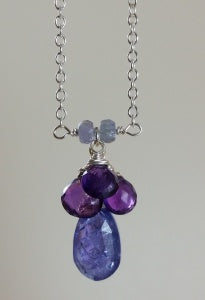 Kristin Ford - Tanzanite Necklace