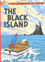 Tintin Book - The Black Island