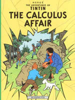 Tintin Book - The Calculus Affair