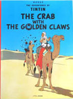 Tintin Book - The Crab with the Golden Claws