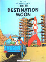 Tintin Book - Destination Moon