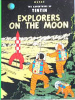 Tintin Book - Explorers on the Moon