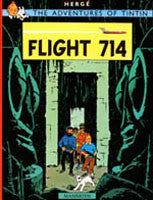 Tintin Book - Flight 714 to Sydney
