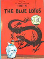 Tintin Book - The Blue Lotus