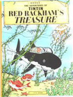 Tintin Book - Red Rackham's Treasure