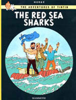 Tintin Book - The Red Sea Sharks