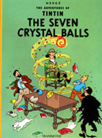 Tintin Book - The Seven Crystal Balls